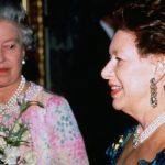 The Queen and Princess Margaret were close