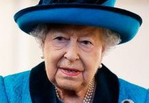 The Queen did not attend church on Sunday