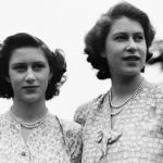 The Queen with her sister Princess Margaret