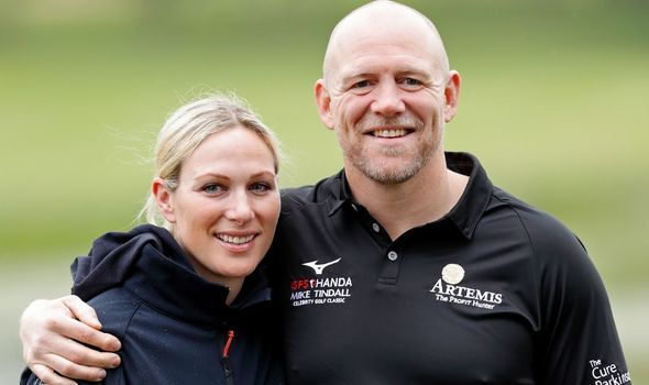 Zara and Mike Tindall: Named Lena after Queen