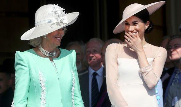 Camilla, Duchess of Cornwall and Meghan Markle