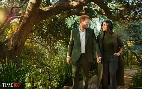 Harry and Meghan were named in Time100