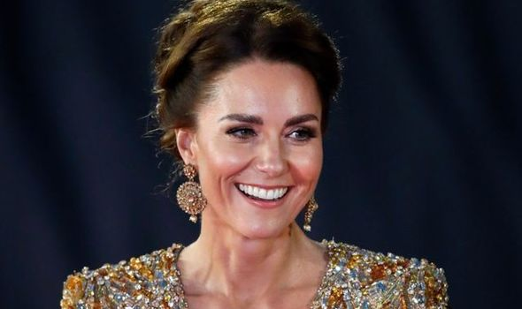 Kate attracted praise for her red carpet look