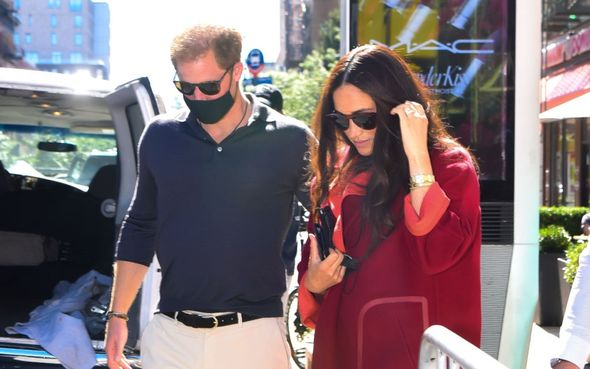 Meghan and Harry had visited New York