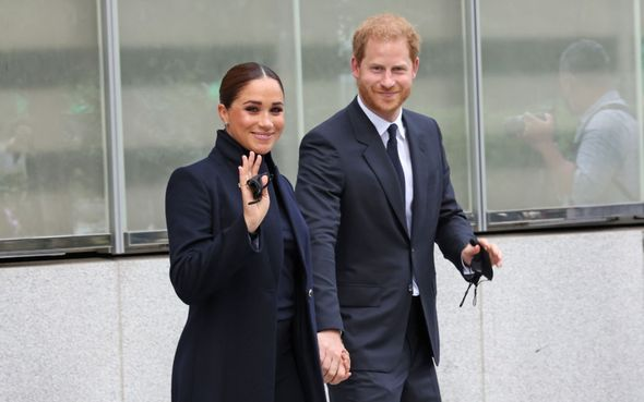 Meghan and Harry spent three days in the city
