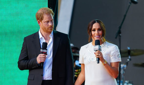 Meghan and Harry in New York recently