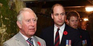 Prince William and Charles