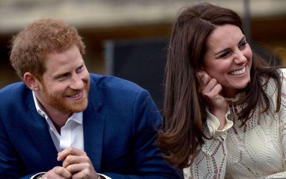 Prince Harry described Kate as his 'big sister'