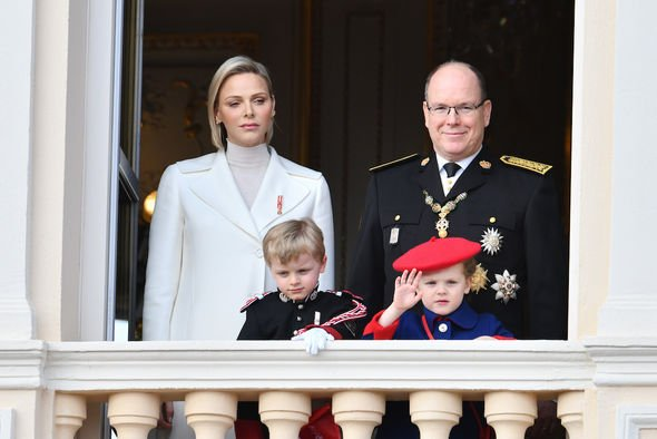 princess charlene of monaco health ent infection hospital new picture