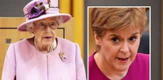 queen news union senedd speech nicola sturgeon snp republicans
