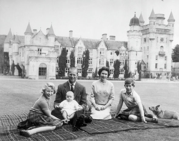 Queen and Prince Philip at Balmoral