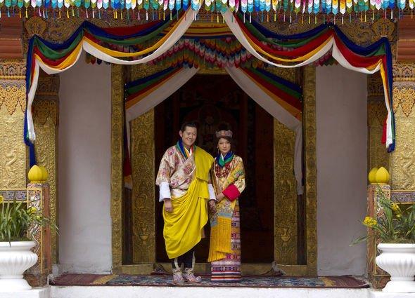royal news wedding 10th anniversary Bhutan King Queen Jetsun Pema kate middleton william