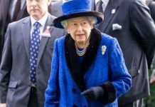 The Queen fell ill last Wednesday