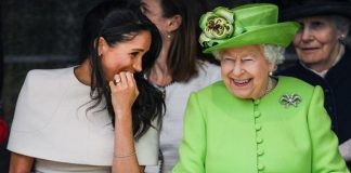 The Queen handed Meghan the patronage