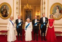 William, Charles, Kate and Camilla